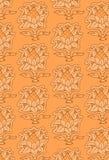 Het naadloze patroon van de ananas Stock Afbeelding