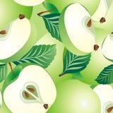 Het naadloze patroon van de appel Royalty-vrije Stock Afbeelding