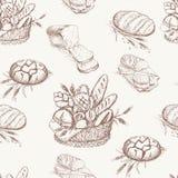 Het patroon van de bakkerij Royalty-vrije Stock Afbeeldingen