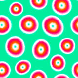 Het naadloze patroon van de bandkleurstof Stock Afbeeldingen