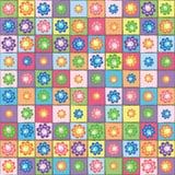 Het naadloze patroon van de bloem Royalty-vrije Stock Foto
