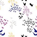 Het Naadloze patroon van de borstelslag Royalty-vrije Stock Afbeelding
