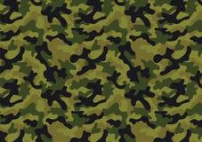 Het naadloze patroon van de camouflage royalty-vrije illustratie