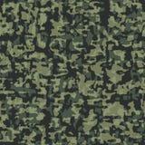 Het naadloze patroon van de camouflage Stock Foto