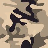 Het naadloze patroon van de camouflage. Stock Foto