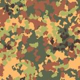 Het naadloze patroon van de camouflage Bosstijl Royalty-vrije Stock Afbeeldingen