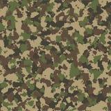 Het naadloze patroon van de camouflage Het kan voor prestaties van het ontwerpwerk noodzakelijk zijn royalty-vrije illustratie