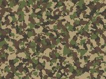 Het naadloze patroon van de camouflage Vector illustratie stock illustratie