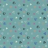 Het naadloze patroon van de diamant Royalty-vrije Stock Afbeeldingen