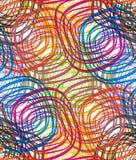 Het naadloze patroon van de disco stock illustratie