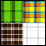 Het Naadloze Patroon van de Doek van vier Seizoenen Royalty-vrije Stock Afbeeldingen