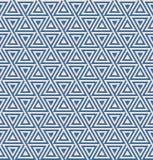 Het naadloze patroon van de driehoek Stock Afbeelding