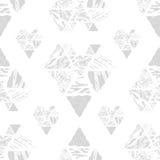 Het naadloze patroon van de driehoek Stock Foto's
