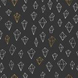 Het naadloze Patroon van de Driehoek Royalty-vrije Stock Foto
