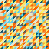 Het naadloze Patroon van de Driehoek Het kan voor prestaties van het ontwerpwerk noodzakelijk zijn Royalty-vrije Stock Afbeelding