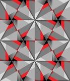 Het naadloze Patroon van de Driehoek Het kan voor prestaties van het ontwerpwerk noodzakelijk zijn Geometrische abstracte textuur stock illustratie