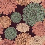 Het naadloze patroon van de flora vector illustratie