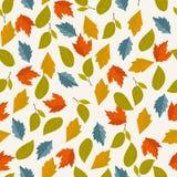 Het naadloze patroon van de herfst Royalty-vrije Stock Foto