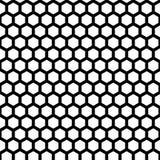 Het Naadloze Patroon van de honingraat vector illustratie