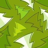 Het naadloze patroon van de kerstboom Stock Illustratie