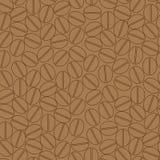 Het naadloze patroon van de koffie Stock Afbeeldingen
