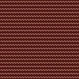 Het naadloze patroon van de koffieboon Royalty-vrije Stock Afbeeldingen