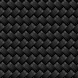 Het naadloze patroon van de koolstofvezel Stock Foto