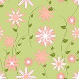 Het naadloze patroon van de lente Stock Foto's