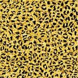 Het naadloze patroon van de luipaard Dierlijke druk Stock Foto's