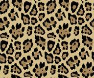 Het naadloze Patroon van de Luipaardhuid voor Textieldruk voor gedrukt stoffenontwerp voor Womenswear, ondergoed, activewear kids stock illustratie