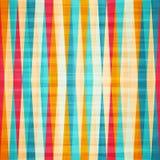 Het naadloze patroon van de regenboogruit Stock Foto