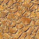 Het naadloze patroon van de steen. Stock Afbeeldingen