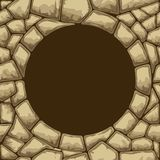 Het naadloze patroon van de steen Royalty-vrije Stock Foto
