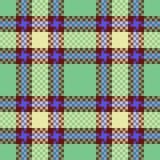 Het naadloze patroon van de stof royalty-vrije illustratie