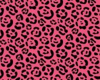 Het naadloze patroon van de textuurluipaard Royalty-vrije Stock Afbeeldingen