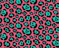 Het naadloze patroon van de textuurluipaard Stock Foto's