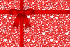 Het naadloze patroon van de valentijnskaart stock illustratie