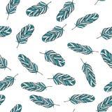 Het naadloze Patroon van de Veer vector illustratie