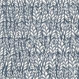 Het naadloze Patroon van de Veer Vector illustratie Royalty-vrije Stock Afbeelding
