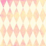 Het naadloze patroon van de waterverfruit Geometrische vectorachtergrond Stock Afbeeldingen