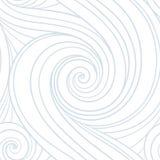 Het naadloze patroon van de werveling royalty-vrije illustratie