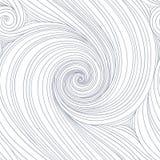 Het naadloze patroon van de werveling stock illustratie