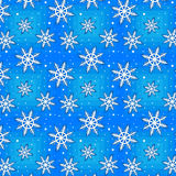 Het naadloze patroon van de winter Royalty-vrije Stock Foto's