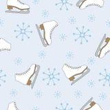 Het naadloze patroon van de winter vector illustratie