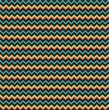 Het naadloze patroon van de zigzag Stock Afbeelding