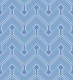 Het naadloze patroon van de zigzag Royalty-vrije Stock Afbeelding