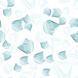 Het naadloze patroon van diamanten Royalty-vrije Stock Foto's