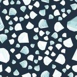 Het naadloze patroon van diamanten Royalty-vrije Stock Foto