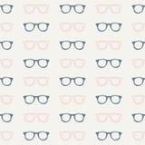 Het naadloze Patroon van Glazen Royalty-vrije Stock Afbeeldingen