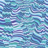 Het naadloze patroon van golven stock illustratie